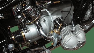 Motorradmotor Feintuning